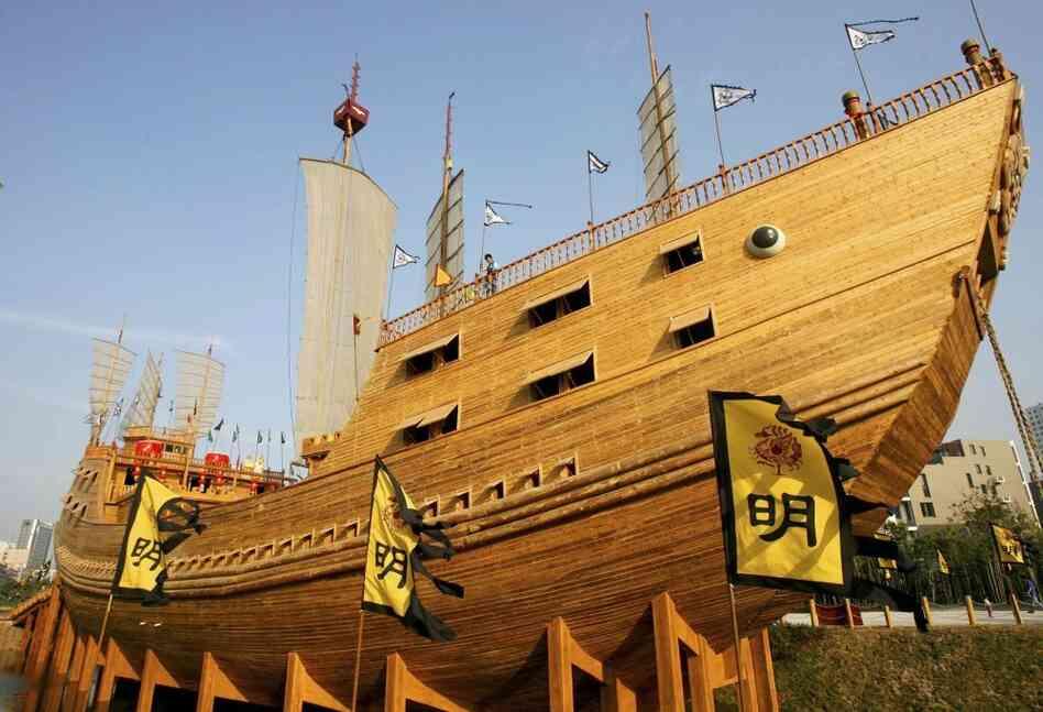 Zheng He Ship Replica replica of zhen