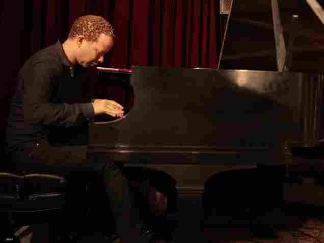 Craig Taborn's solo album, Avenging Angel, is full of wide-open spaces between notes, and very quiet dynamics.