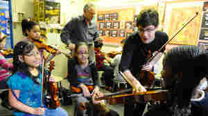 With A Little Help, Violin Students Get To Carnegie Hall
