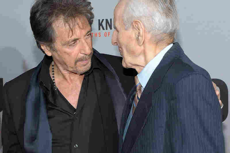 Kevorkian's life story became the subject of the 2010 HBO movie You Don't Know Jack which earned actor Al Pacino awards for his portrayal of Kevorkian. The two were pictured together at the movie's 2010 premiere in New York City.