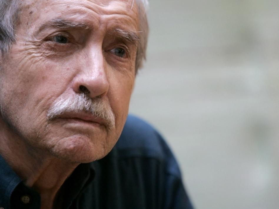 Playwright Edward Albee has won three Pulitzer Prizes, for <em>Seascape</em>, <em>A Delicate Balance</em> and  <em>Three Tall Women</em>. (Mary Altaffer/AP Images)