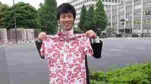 """""""I would wear this if my company let me,"""" says recruitment consultant Tomoyoki  Chikawa."""