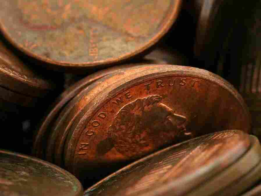 He had many thoughts, and pennies, to share.