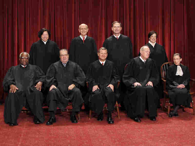 The U.S. Supreme Court group portrait for the current term.