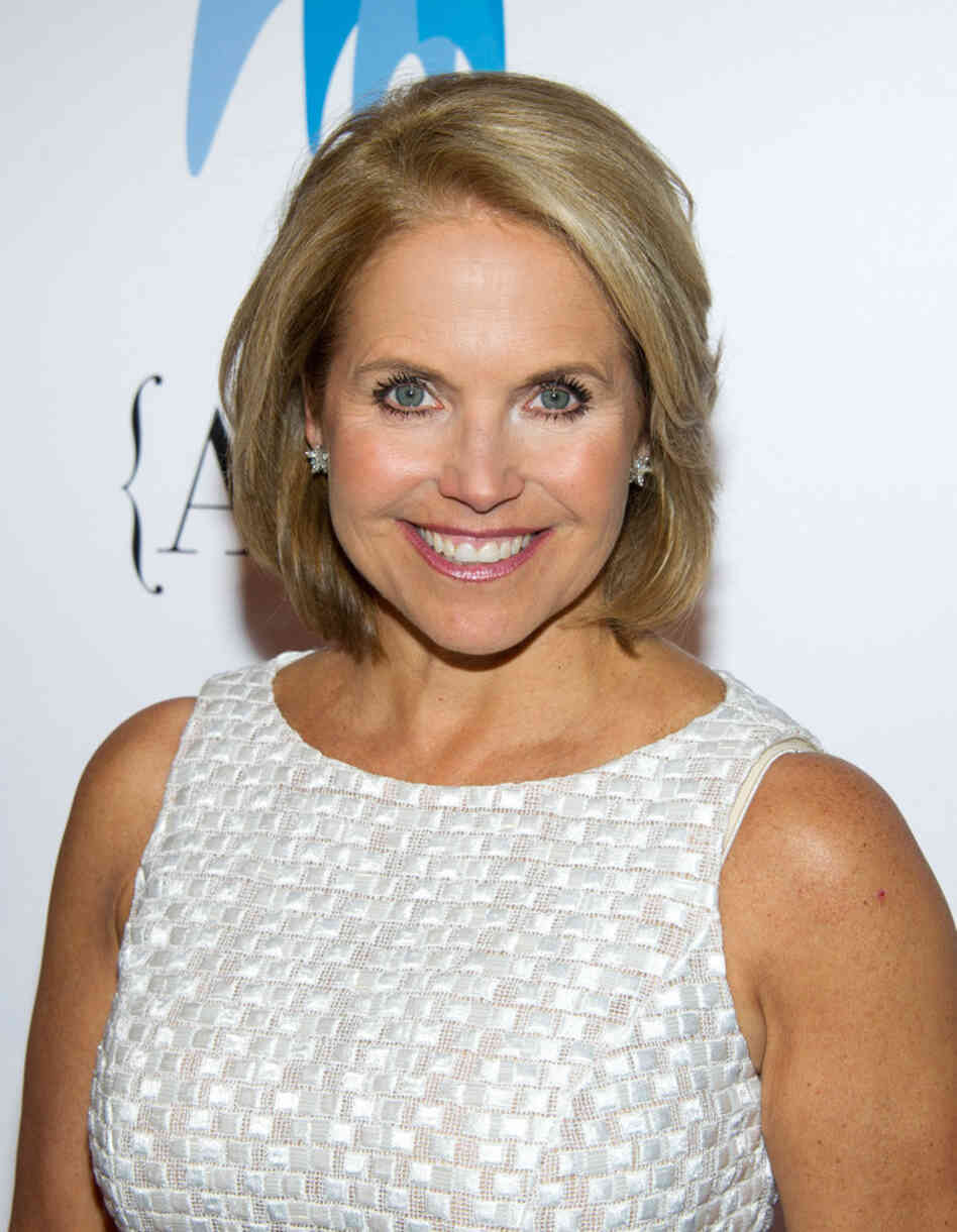 Katie Couric, seen here at the National Magazine Awards in May, announced a deal today for a daytime talk show to debut in the fall of 2012.