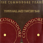 Town Hall Jazz Concert 1945 cover