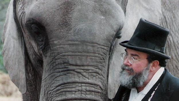 Trunk Show: Circus ringmaster David Balding treated his teenage elephant, Flora, like a surrogate daughter. Lis