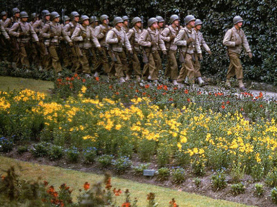 Remembering D-Day With Rare Color Photos | WBUR News