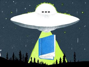Science Fiction Books Illustration