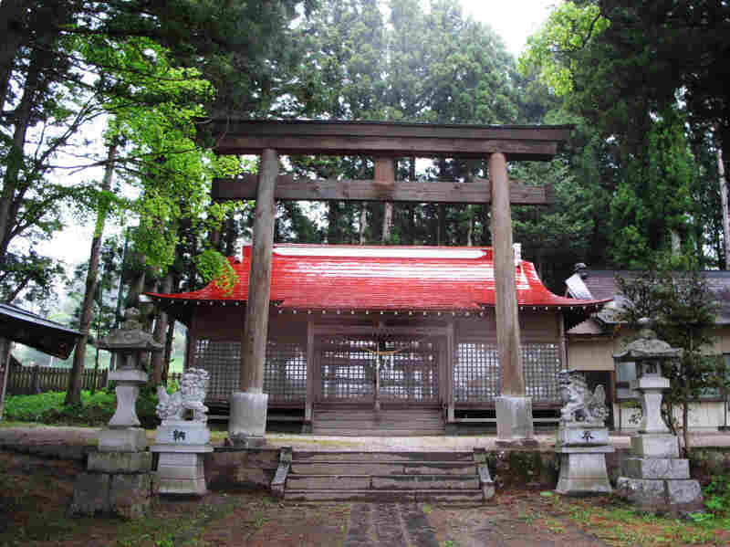 A deserted shrine in Iitate, which has been voted one of  Japan's most beautiful villages. The levels of radiation there are twice the level requiring evacuation, according to  the International Atomic Energy Agency.