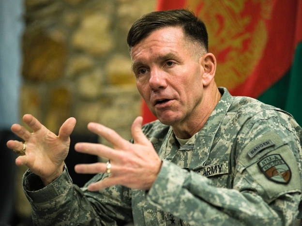 Lt. Gen. William Caldwell (Feb. 27, 2011 file photo).