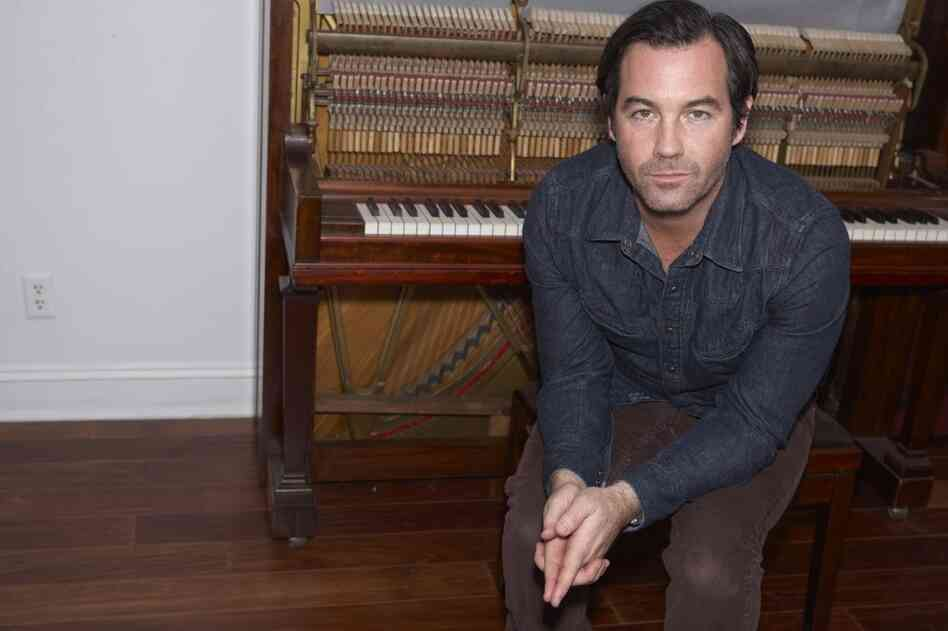 Duncan Sheik, pictured at home in 2010, won two Tony Awards for his work on the 2006 musical Spring Awakening. His new album is a collection of covers of songs from the 1980s.