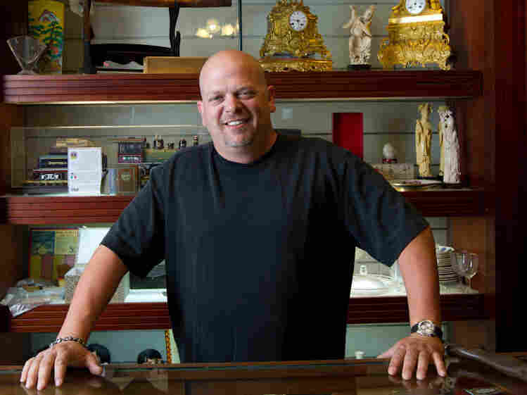 Rick Harrison and his family run a 24-hour pawn shop in Las Vegas.