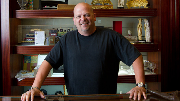Rick Harrison and his family run a 24-hour pawn shop in Las Vegas. (History Channel)