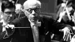 George Szell, conducting the Cleveland Orchestra in Tokyo in 1970.