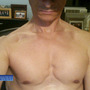 A shirtless Rep. Anthony Weiner.