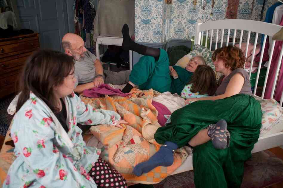 This photo of Anna, her nieces and her grandparents during a visit home to Massachusetts over the Thanksgiving holiday is one of Al-Sharif's favorites.