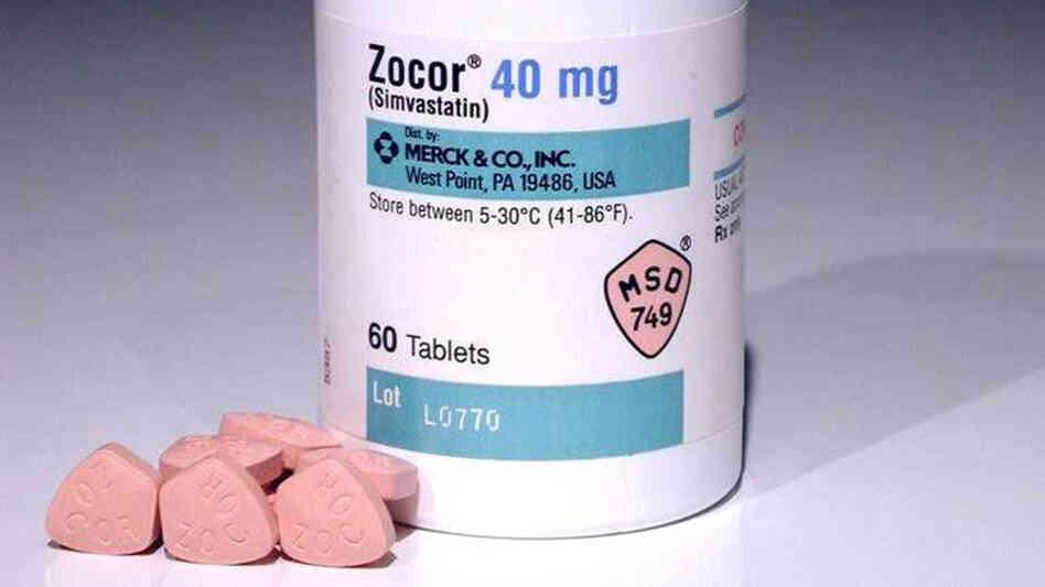 Zocor Simvastatin Pill Drugs