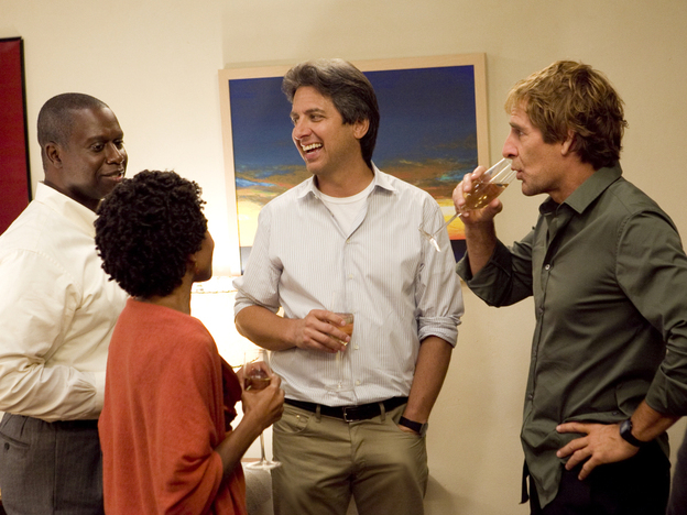 Andre Braugher, LisaGay Hamilton, Ray Romano and Scott Bakula star on TNT's <em>Men Of A Certain Age</em>.