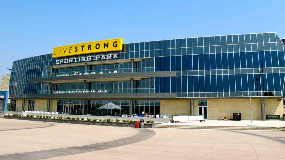 'Livestrong' Stadium Tries To Dodge Doping Drama : NPR
