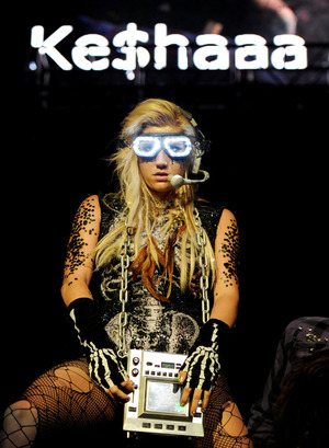 The singer Ke$ha on stage in Los Angeles in May. This summer, rather than playing festivals or a co-headlining tour, she'll be leading her own three-month tour around the country.