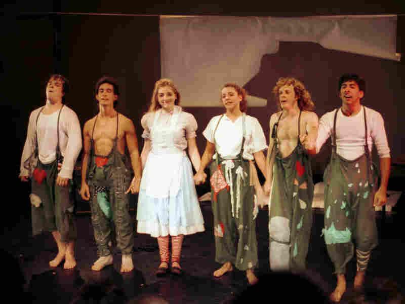 Pre-Lookingglass: The cast of the 1987 production of Alice, the play that led to the formation of the company.