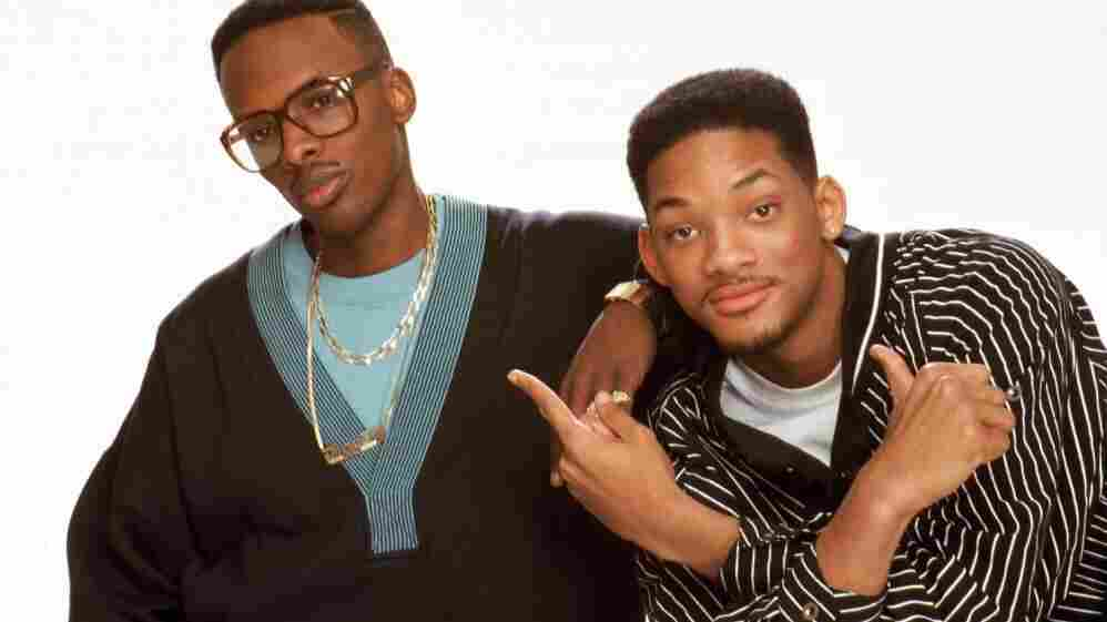 """DJ Jazzy Jeff & The Fresh Prince, also known as Will Smith, in the """"Parents Just Don't Understand"""" era. In this photo, he's about the age his eldest son is now."""
