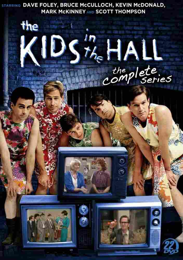 The cover of the new edition of the Kids In The Hall megaset.