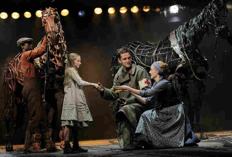 A scene from the Lincoln Center production of War Horse. The Handspring Puppet Company is set to win a special Tony award during Sunday's telecast.