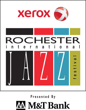 The Xerox Rochester International Jazz Festival logo.