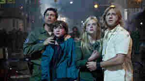 Kyle Chandler, Joel Courtney, Elle Fanning and Ron Eldard star in J.J. Abrams' new movie Super 8.