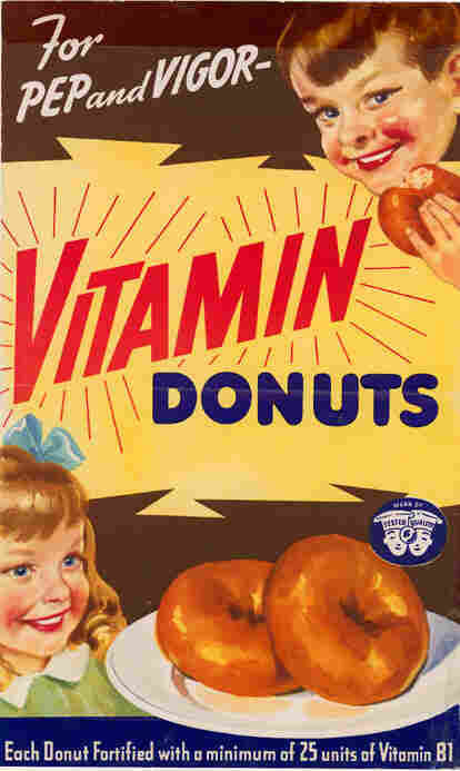 The Doughnut Corporation once sought the government's blessing for this ad.