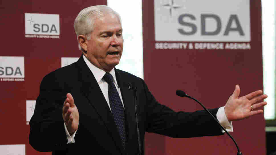 Secretary of Defense Robert Gates offering his blunt assessment of NATO earlier today (June 10, 2011) in Brussels.