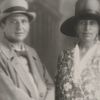 Gertrude Stein and Alice B. Toklas, Aix-les-Bains, France, circa 1927
