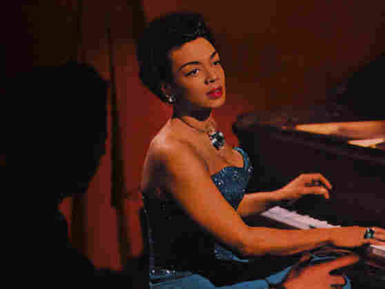 Hazel Scott on the cover of 'Round Midnight.