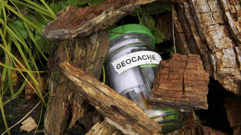 There are more than 5 million geocachers worldwide, stalking more than a million hidden caches. Most caches are small- to medium-sized containers with a logbook inside, and sometimes little items that geocachers can take with them, as long as they leave something of equal or more value in its place.