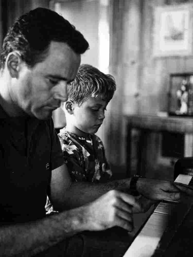Jack Lemmon Jack Lemmon With His Son