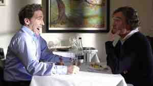 Best Impressions: Steve Coogan (right) and Rob Brydon trade barbs and impersonations in The Trip.