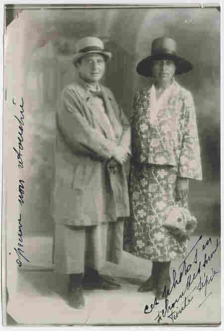 Gertrude Stein and Alice B. Toklas, Aix-les-Bains, France, circa 1927