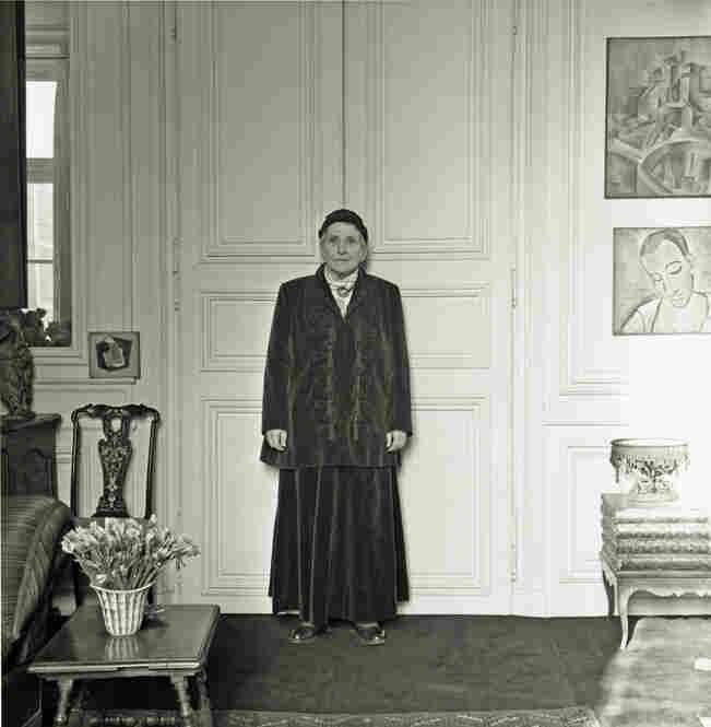 Gertrude Stein Wearing Balmain Suit, 1946