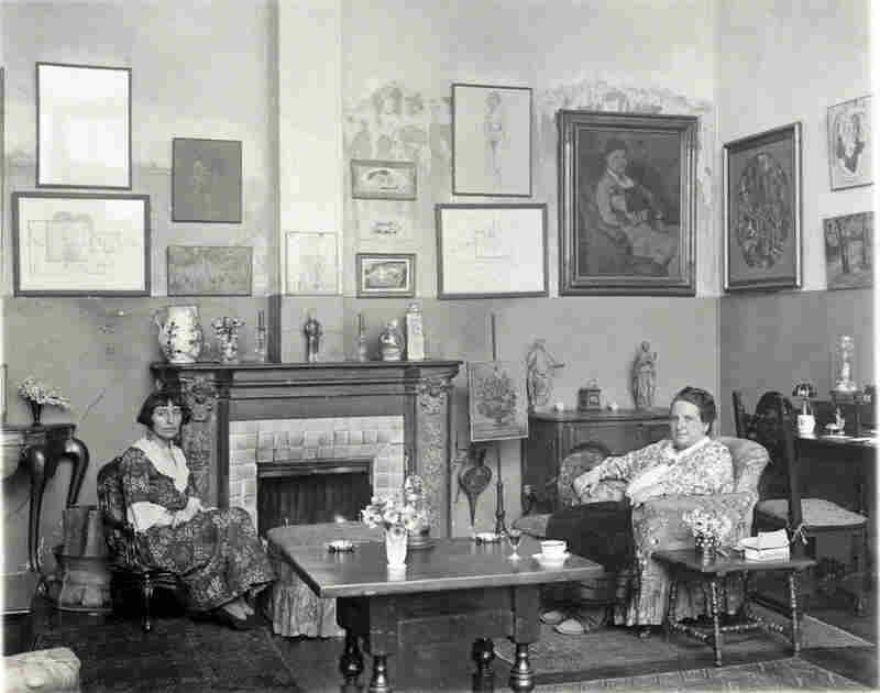 Gertrude Stein and Alice B. Toklas, 1922