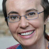 Rep. Gabrielle Giffords, in a recent photo. It was posted on her Facebook page earlier today (June 12, 2011).
