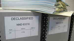 The declassified Pentagon Papers released by the National Archives and the Nixon, Kennedy and Johnson Presidential Libraries.