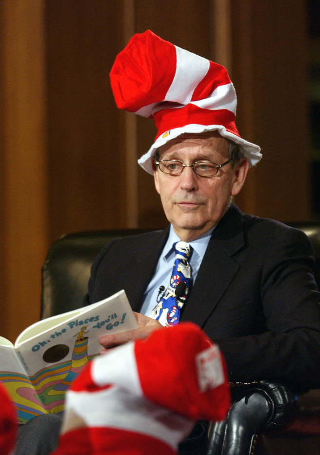 Justice Breyer Cat In The Hat