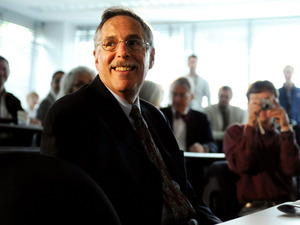 Massachusetts Institute of Technology professor Peter Diamond prepared to address the media last October after winning the 2010 Nobel Prize in Economic Sciences. Last week, more than a year after being nominated for a seat on the Fed, and facing Republican opposition, Diamond withdrew his nomination.