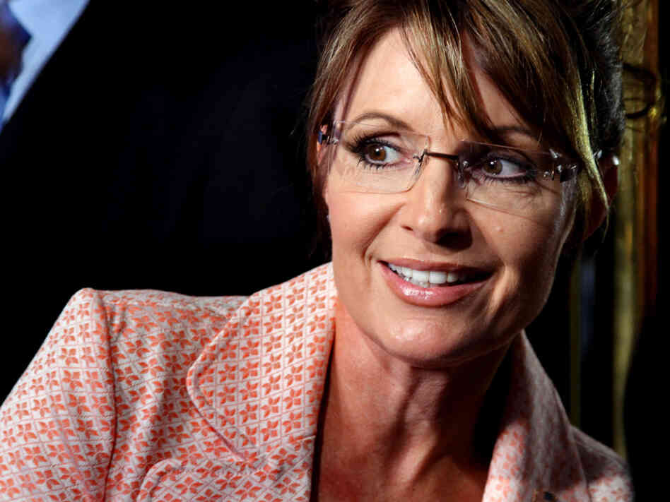 Former Alaska Gov. Sarah Palin (R) in New York City on