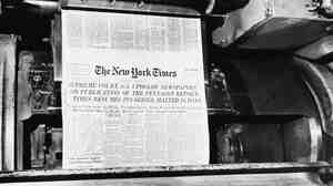 July 1, 1971: After getting the green light from the Supreme Court, The New York Times resumes publication of its series of articles based on the secret Pentagon Papers.