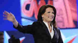 Michele Bachmann (R-MN) announced 11 minutes into Monday night's Republican debate in Manchester, N.H., that she had formally filed papers to run for president.