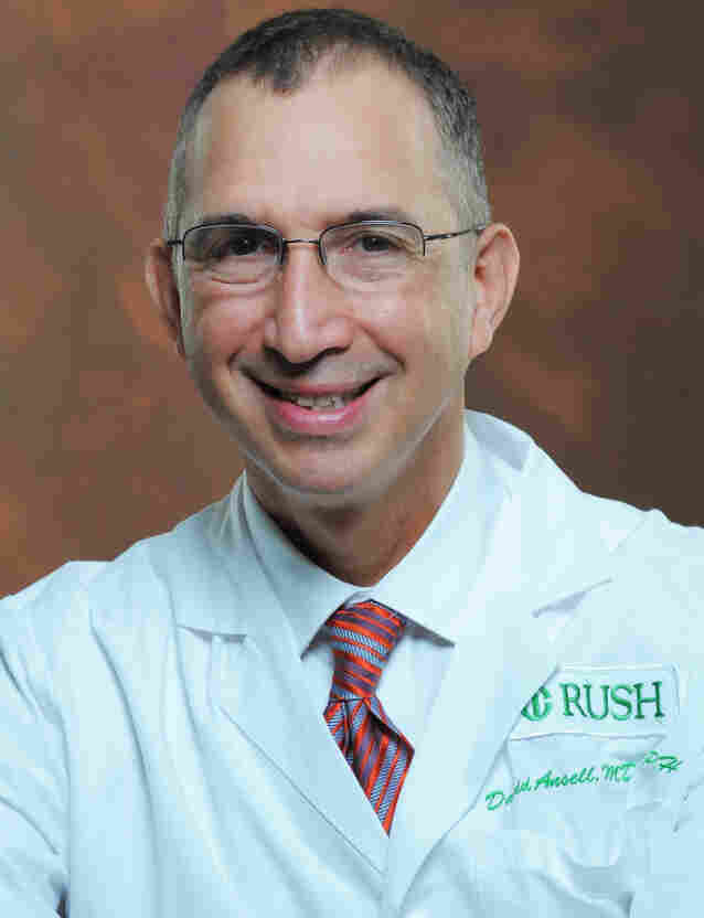 Dr. David Ansell is on the newly created independent governing board of the John H. Stroger Jr. Hospital formerly known as County.