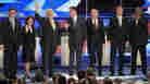GOP Hopefuls Target Obama, Not Each Other, In First Debate